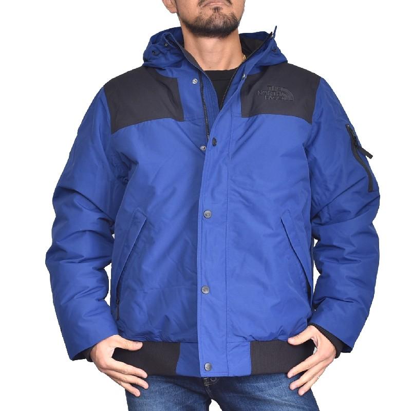 【SALE】 大きいサイズ メンズ ノースフェイス THE NORTH FACE 中綿ジャケット アウター ダウン ブルー 青 USAモデル XL XXL