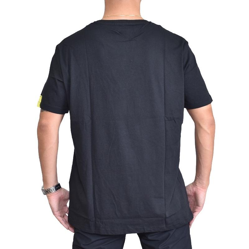 大きいサイズ メンズ REPLAY リプレイ半袖Tシャツ ワンポイント 黒 ブラック 白 ホワイトXXL XXXL 【メール便対応】 [M便 1/1]