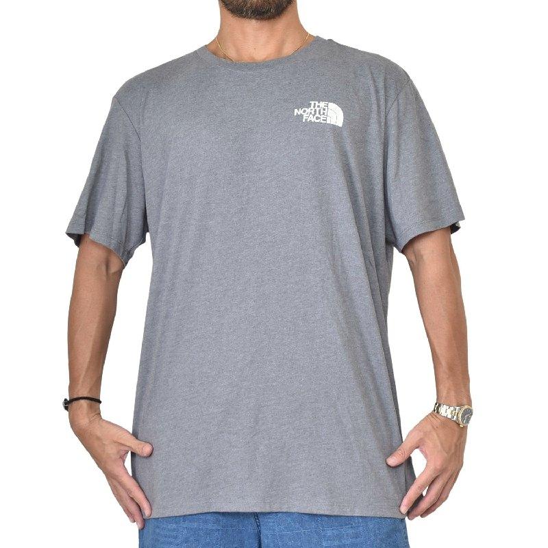 大きいサイズ メンズ ノースフェイス 半袖 ハーフドーム バックプリント Tシャツ USAモデル THE NORTH FACE XL XXL 【メール便対応】 [M便 1/1]