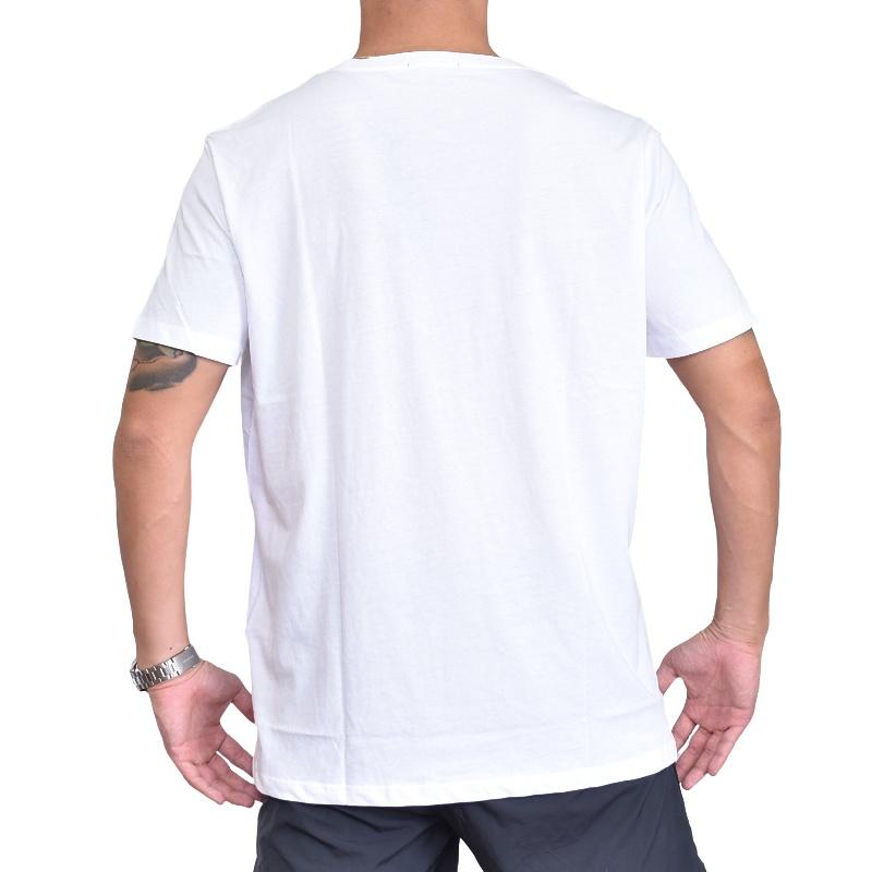 大きいサイズ メンズ REPLAY リプレイ 半袖Tシャツ パームツリープリント 黒 ブラック 白 ホワイト XXL XXXL 【メール便対応】 [M便 1/1]
