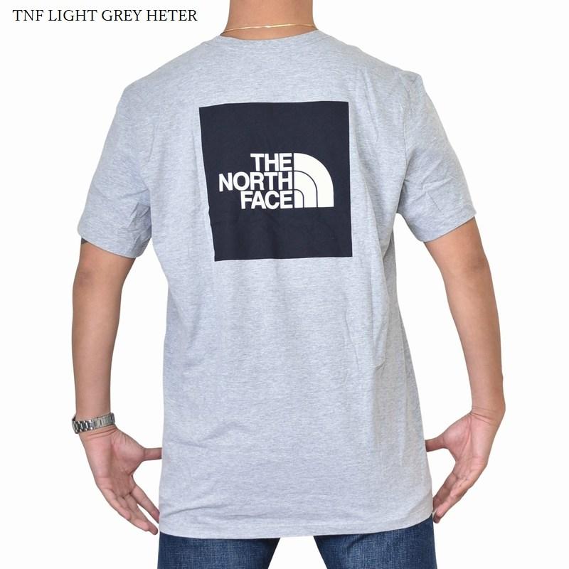 大きいサイズ メンズ ノースフェイス 半袖 Tシャツ BOX TEE ボックスロゴ バックプリント ブラック ホワイト グレー THE NORTH FACE XL XXL 【メール便対応】 [M便 1/1]