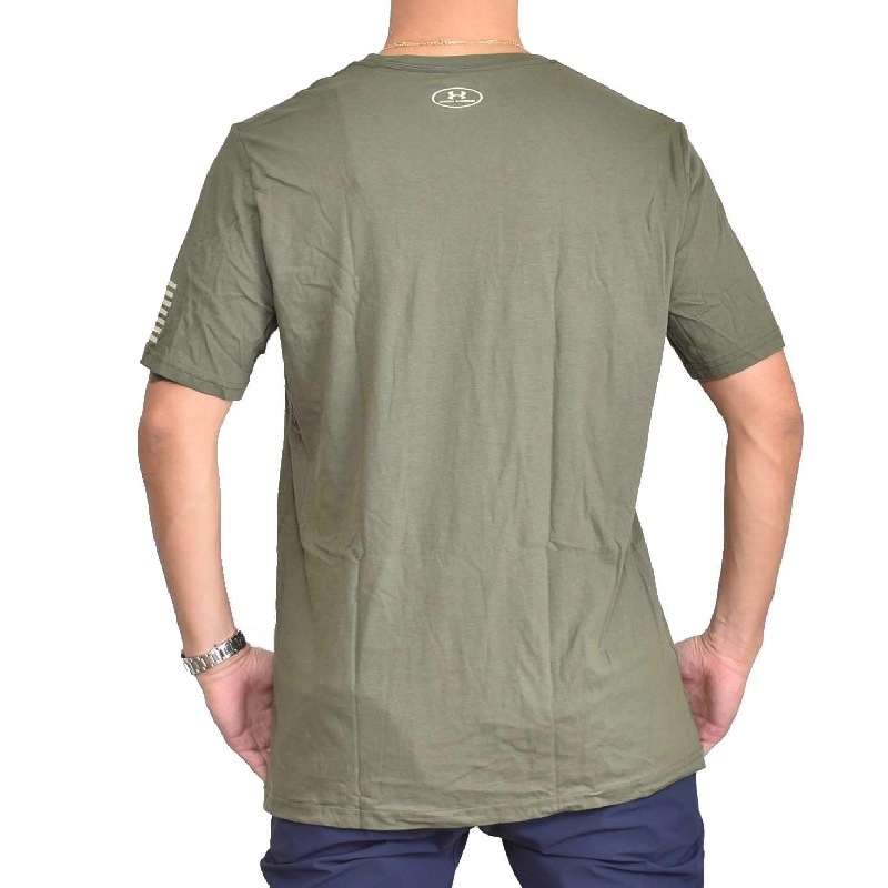 【SALE】 大きいサイズ メンズ アンダーアーマー UNDAR ARMOUR 半袖 ロゴ Tシャツ 黒 ブラック ネイビー オリーブ XL XXL XXXL 【メール便対応】 [M便 1/1]