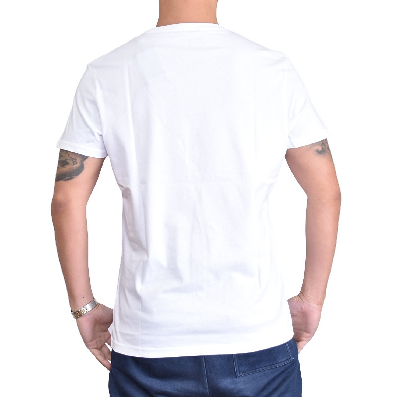【SALE】 大きいサイズメンズ トミーヒルフィガージーンズ TOMMY HILFIGER JEANS クルーネック 半袖Tシャツ ネイビー ホワイト 白 XL XXL 【メール便対応】 [M便 1/1]