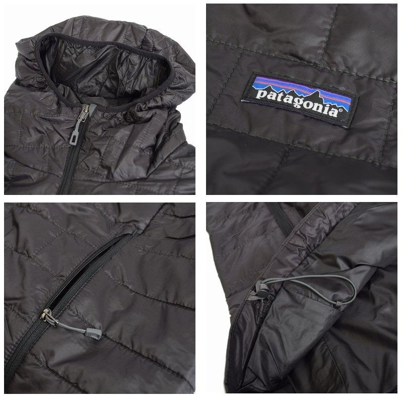 【SALE】 大きいサイズ メンズ patagonia パタゴニア ダウンジャケット Nano Puff Hoody 84222 黒 ネイビー XL XXL