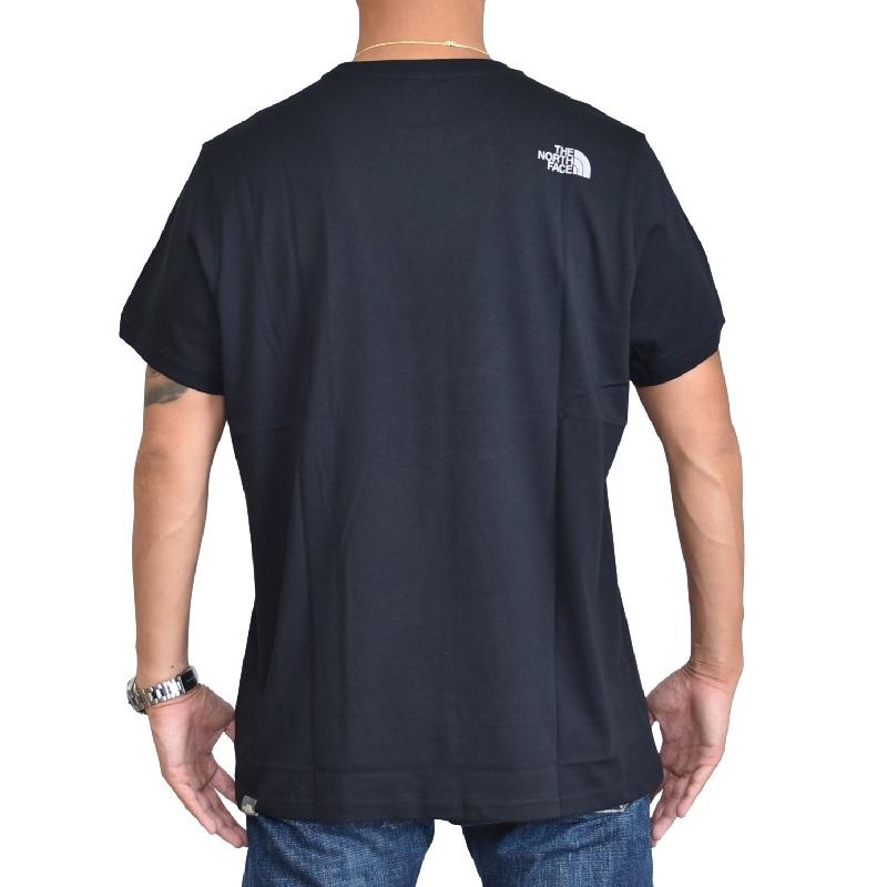 大きいサイズ メンズ ノースフェイス 半袖 ロゴプリント Tシャツ Open Gate EUライン 海外モデル 黒 白 ブラック グリーン ブルー XL XXL 【メール便対応】 [M便 1/1]