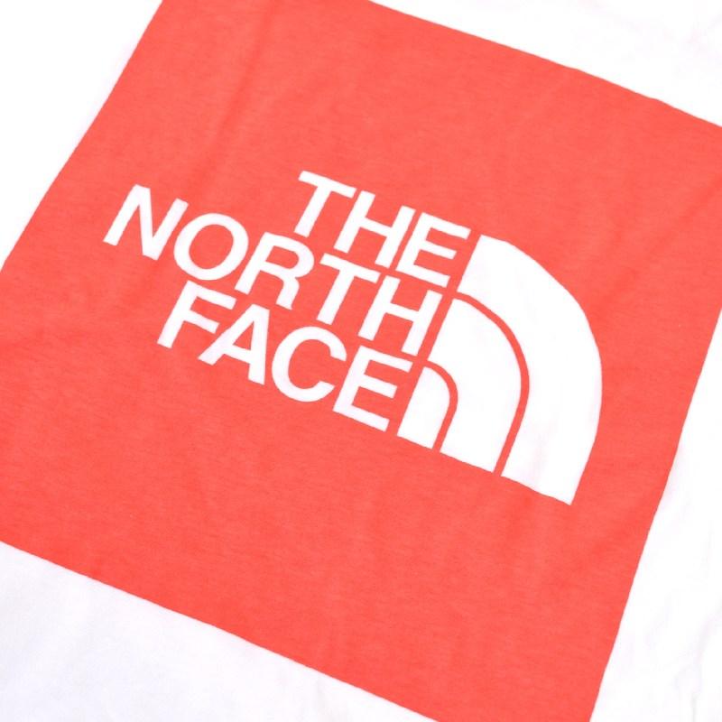 大きいサイズ メンズ ノースフェイス ロンT 長袖 Tシャツ ボックスロゴ バックプリント USAモデル Long Sleeve Red Box Tee THE NORTH FACE XL XXL [M便 1/1]