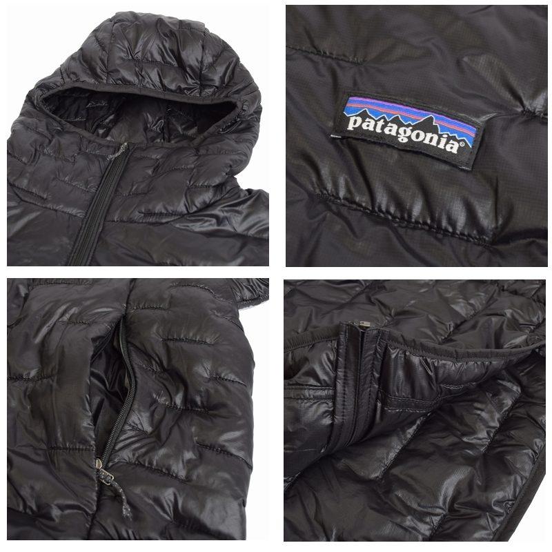 大きいサイズ メンズ patagonia パタゴニア ダウンジャケット Micro Puff Hoody 84030 黒 ネイビー XL XXL