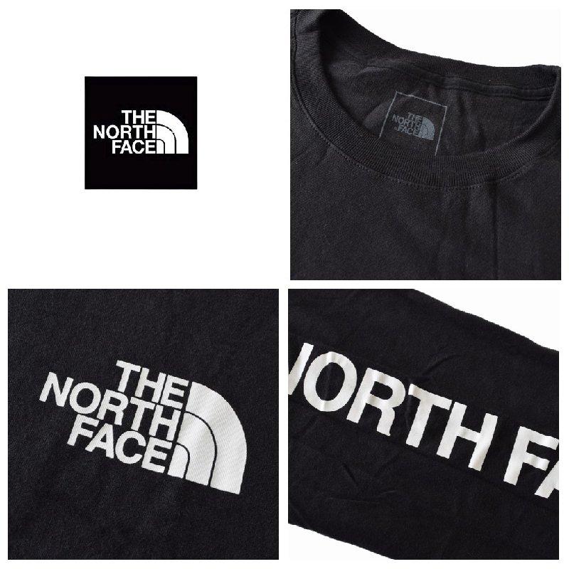 大きいサイズ メンズ ノースフェイス ロンT 長袖 Tシャツ 袖ロゴ アームプリント XL XXL USAモデル Long Sleeve TNF SLEEVE HIT TEE THE NORTH FACE [M便 1/1]