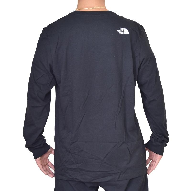 大きいサイズ メンズ ノースフェイス ロンT 長袖 Tシャツ 袖ロゴ アームプリント XL XXL USAモデル COORDINATES Long Sleeve TEE THE NORTH FACE [M便 1/1]