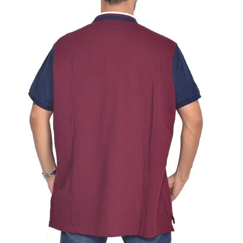 大きいサイズ メンズ ポロラルフローレン POLO RALPH LAUREN ビッグポニー エンブレム 鹿の子 半袖ポロシャツ custom slim fit XL XXL