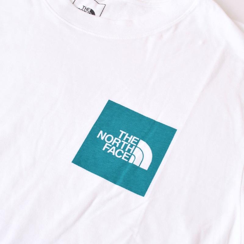大きいサイズ メンズ ノースフェイス 半袖 Tシャツ NEW BOX TEE ボックスロゴ ワンポイント 白 ホワイト USAモデル THE NORTH FACE XL XXL 【メール便対応】 [M便 1/1]