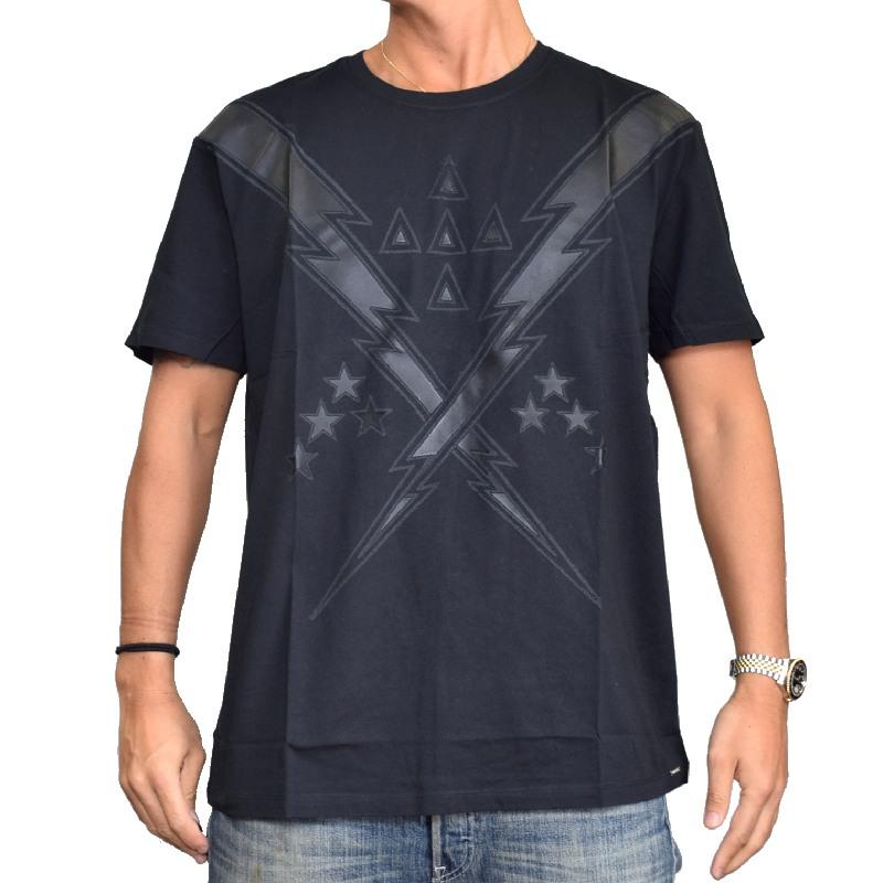 【SALE】 大きいサイズ メンズ ディーゼル Diesel クルーネック 半袖Tシャツ T-AUBIN XXL XXXL 【メール便対応】 [M便 1/1]