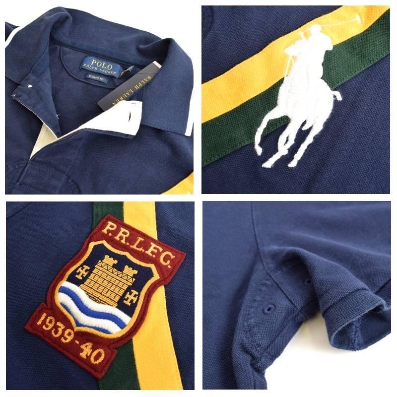 大きいサイズ メンズ ポロラルフローレン POLO RALPH LAUREN ビッグポニー エンブレム 鹿の子 半袖ポロシャツ classic fit XL XXL