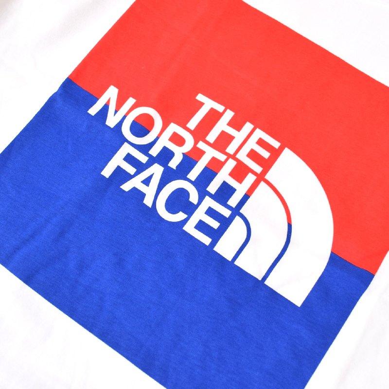 大きいサイズ メンズ ノースフェイス 半袖 Tシャツ USA BOX TEE ボックスロゴ 白 ホワイト USAモデル THE NORTH FACE XL XXL 【メール便対応】 [M便 1/1]