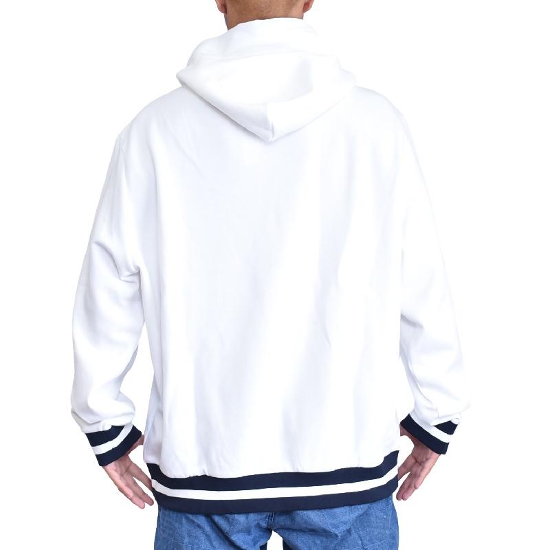 大きいサイズ メンズ ポロラルフローレン POLO RALPH LAUREN パーカー プルオーバー スウェット フーディー ネイビー ホワイト XL XXL