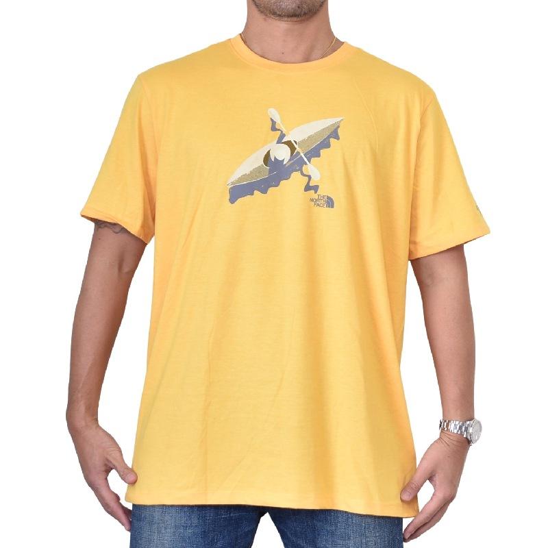 大きいサイズ メンズ ノースフェイス 半袖 グラフィック Tシャツ USAモデル THE NORTH FACE XL XXL 【メール便対応】 [M便 1/1]