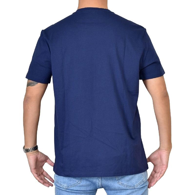 大きいサイズ メンズ CK カルバンクラインジーンズ Calvin Klein Jeans クルーネック 半袖Tシャツ ネイビー XL XXL 【メール便対応】 [M便 1/1]