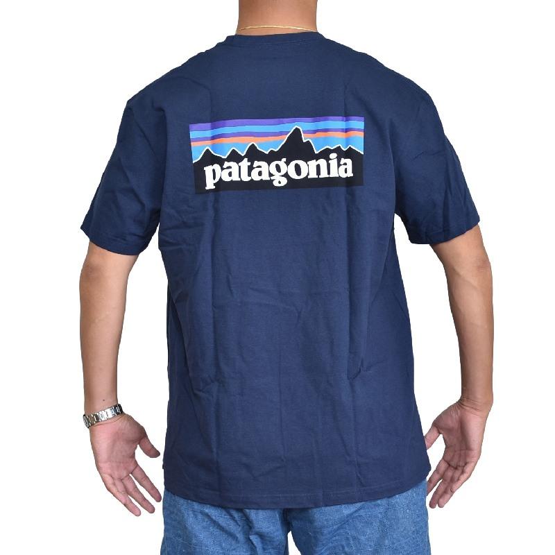 大きいサイズ メンズ パタゴニア patagonia 半袖Tシャツ P-6ロゴ レスポンシビリティー XL XXL 【メール便対応】 [M便 1/1]