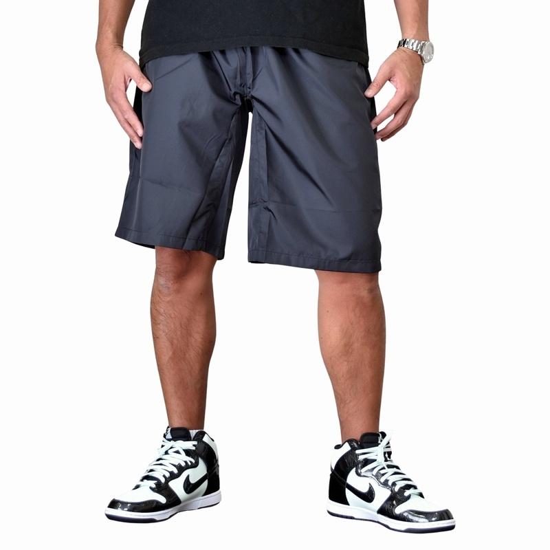 大きいサイズ メンズ チャンピオン Champion ハーフパンツ ショーツ ショーパンツ スポーツ ブラック グレー ネイビー オリーブ ベージュ 3L 4L 5L 【メール便対応】 [M便 1/1]