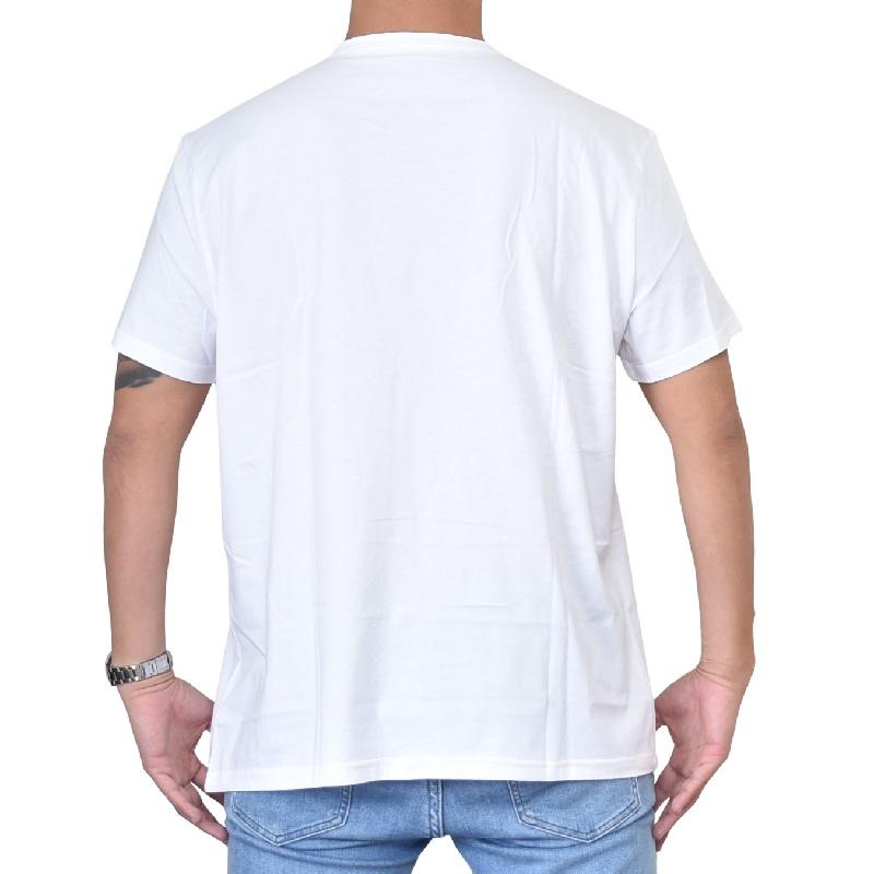 大きいサイズ メンズ CK カルバンクラインジーンズ Calvin Klein Jeans クルーネック 半袖Tシャツ 白 ホワイト XL XXL 【メール便対応】 [M便 1/1]