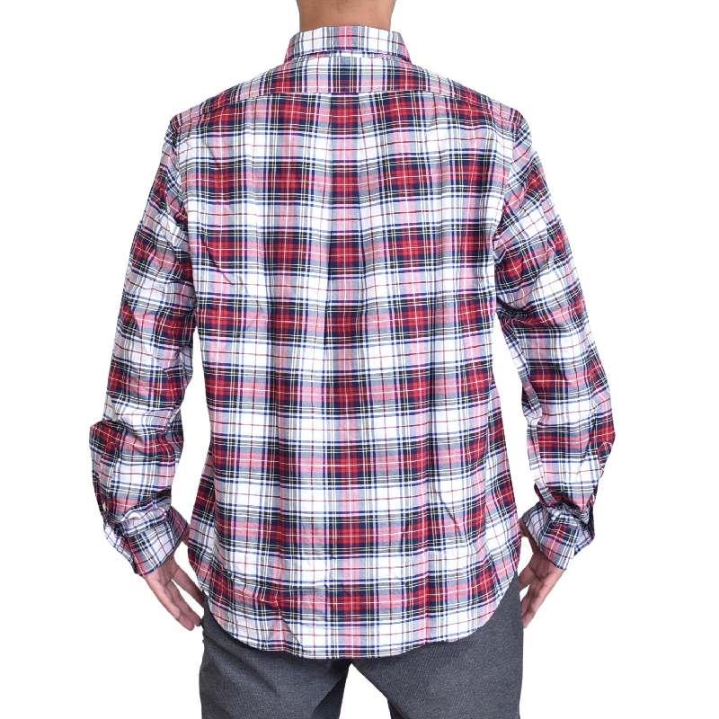 大きいサイズ メンズ ポロラルフローレン POLO RALPH LAUREN 長袖シャツ ワンポイント チェック ボタンダウン CLASSIC FIT XL XXL