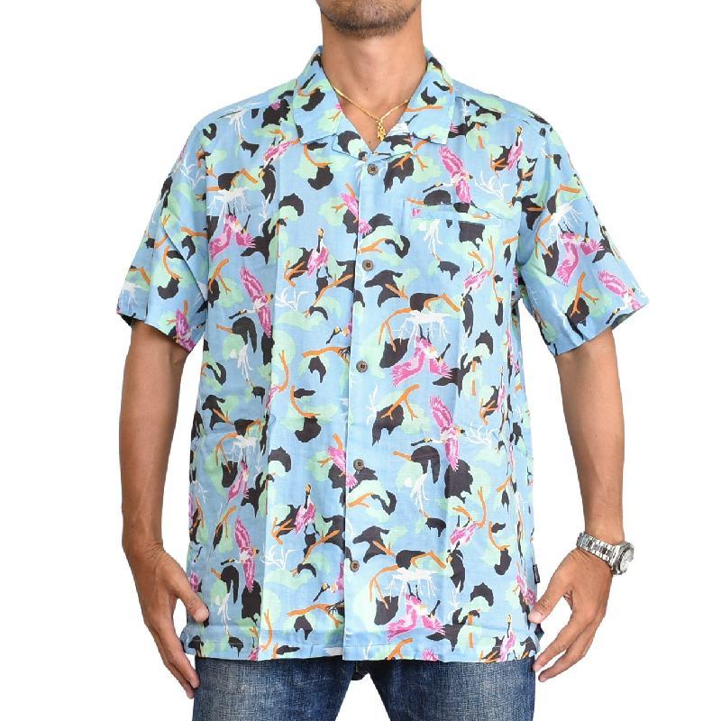 大きいサイズ メンズ patagonia パタゴニア Lightweight A/C Shirt ライトウェイト ACシャツ 53665 CVPE 半袖 シャツ XL XXL