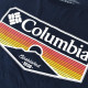 大きいサイズ メンズ Columbia コロンビア 半袖プリントTシャツ SANDY ネイビー USAモデル XL XXL 【メール便対応】 [M便 1/1]