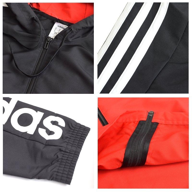 【SALE】 大きいサイズ メンズ adidas アディダス ジャケット ウインドブレイカー マウンテンパーカー 4XO 6XO XL XXL