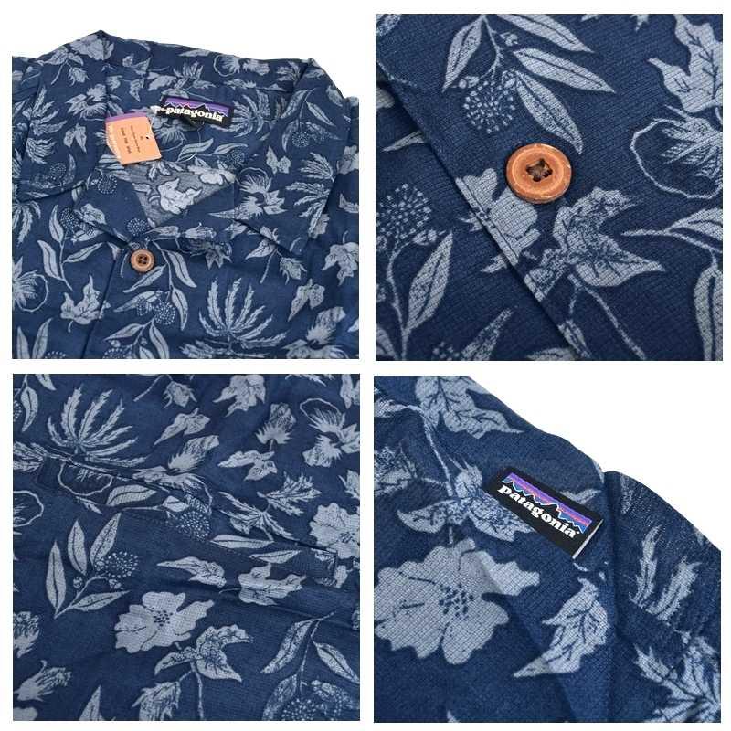 大きいサイズ メンズ patagonia パタゴニア Lightweight A/C Shirt ライトウェイト ACシャツ 53665 半袖 シャツ XL XXL