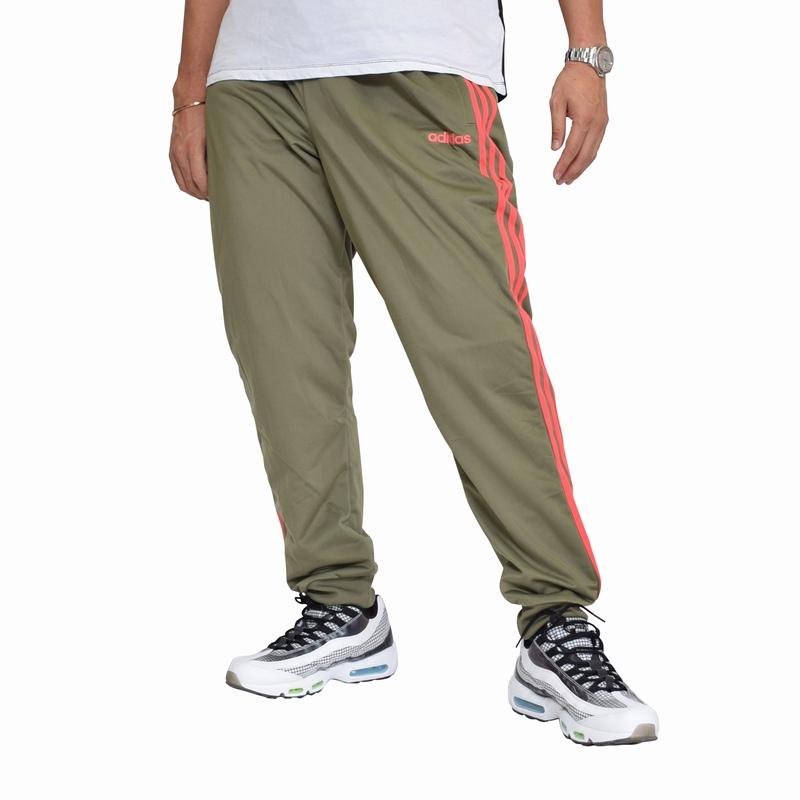 大きいサイズ メンズ adidas アディダストラックパンツ ジャージ 三本ライン 海外モデル 黒 ネイビー XL XXL 2XO 4XO 6XO [ADI-002-L]