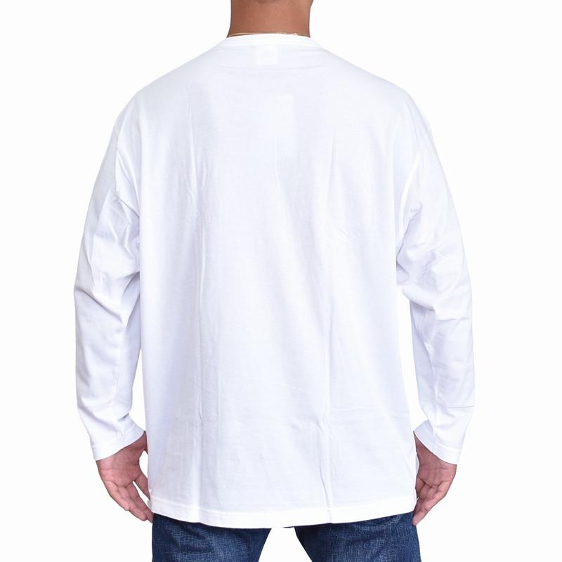 大きいサイズメンズ チャンピオン Champion ロンT 長袖Tシャツ ワンポイント 3L 4L 5L 【メール便対応】 [M便 1/1]