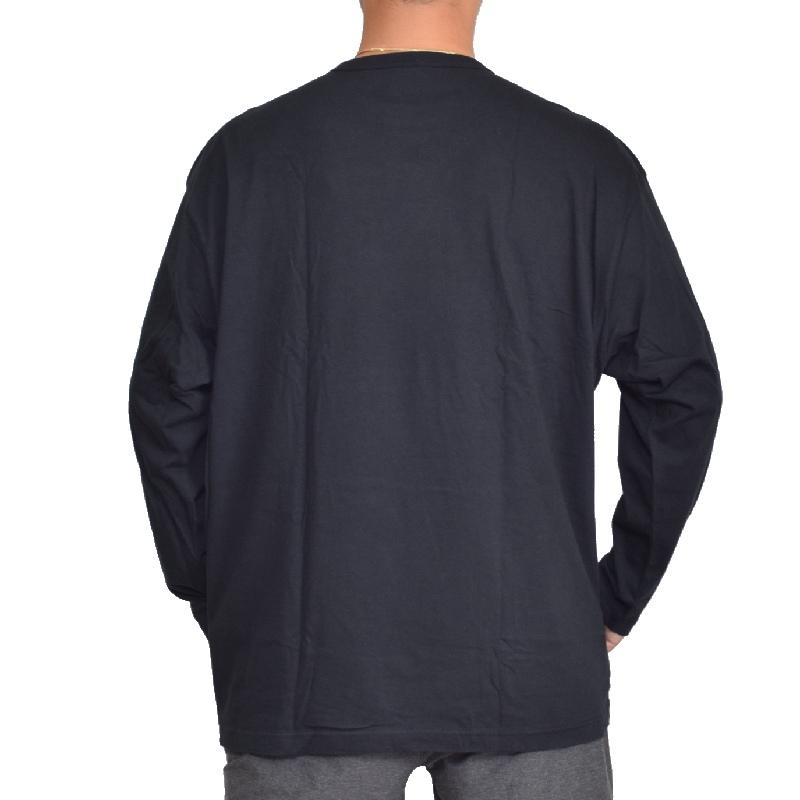 大きいサイズメンズ チャンピオン Champion ロンT 長袖Tシャツ ロゴ ベーシック 3L 4L 5L 【メール便対応】 [M便 1/1]