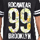 【SALE】 大きいサイズ メンズ ロカウェア ROCAWEAR 半袖 クルーネック Tシャツ BOTANICA 99 TEE 白黒 XXL XXXL 【メール便対応】 [M便 1/1]