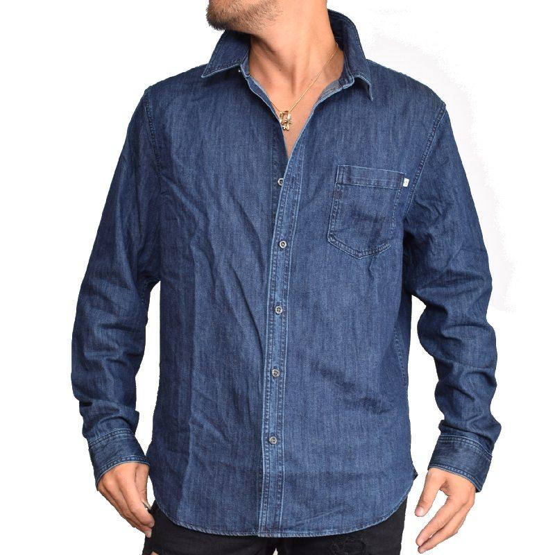 【SALE】 大きいサイズ メンズ ティンバーランド Timberland デニム 長袖シャツ USAモデル SLIM FIT XL XXL