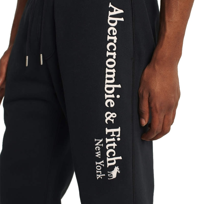 大きいサイズ メンズ アバクロ アバクロンビー&フィッチ Abercrombie&Fitch ロゴ スウェットパンツ XXL