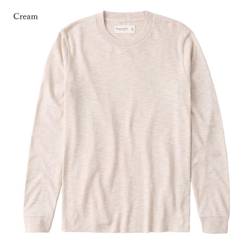大きいサイズ メンズ アバクロ Abercrombie&Fitch ロンT 長袖Tシャツ クルーネック シティーグラフィック XXL