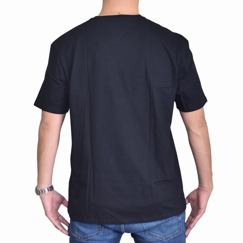 大きいサイズメンズ TOMMY HILFIGER トミーヒルフィガー ワンポイント刺繍 半袖Tシャツ クルーネック XL XXL 【メール便対応】 [M便 1/1]