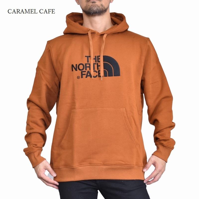 大きいサイズ メンズ ノースフェイス プルオーバー パーカー ロゴ刺繍 黒 グレー 海外モデル THE NORTH FACE XL XXL