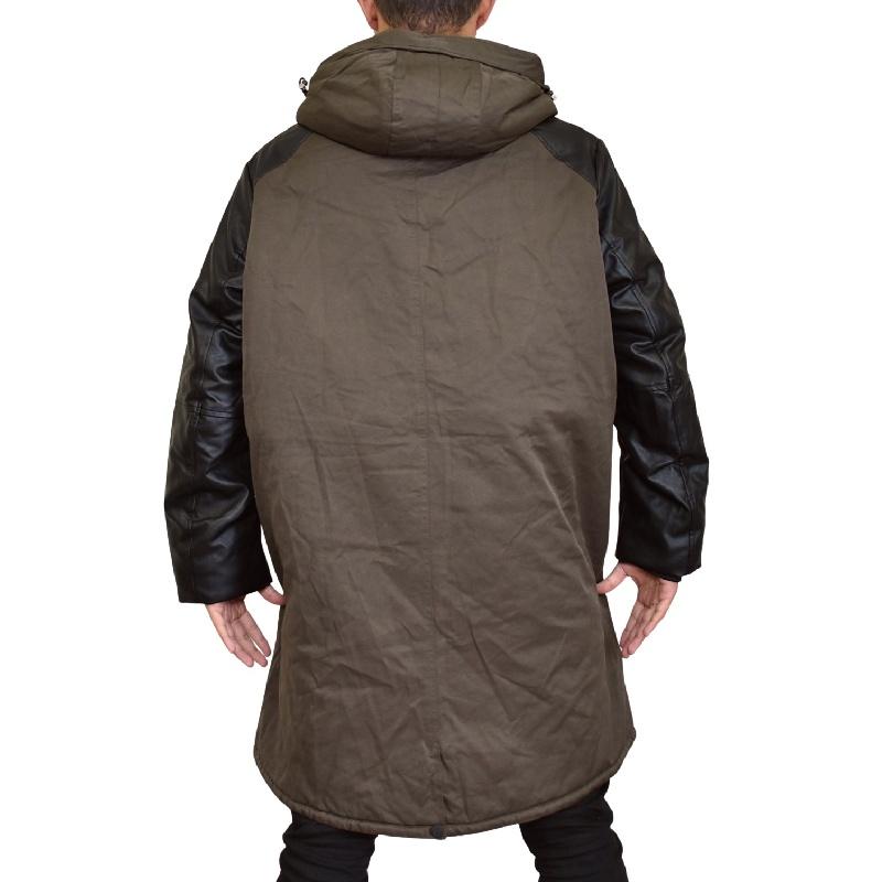 大きいサイズ メンズ アルマーニエクスチェンジ A/X 中綿ミリタリーコート ジャケット アウター ブルゾン XL XXL
