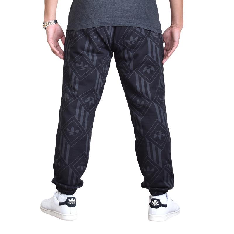 大きいサイズ メンズ adidas アディダス オリジナルス スウェットパンツ 裏毛 黒 ブラック L XL XXL 2XO 4XO 6XO