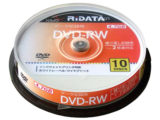 RIDATA DVD-RW4.7G. PW10SP A [DVD-RW 2倍速 10枚組]