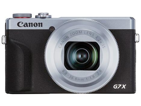 PowerShot G7 X Mark III [シルバー]