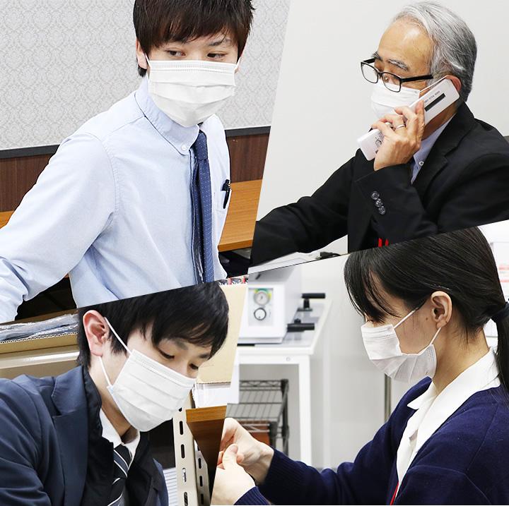 【即日発送】マスク 500枚入り 不織布 高性能3層構造 使い捨てマスク 箱入り 飛沫対策 花粉予防ますく mask レギュラーサイズ PM2.5 立体 フェイスマスク 不織布マスク【3層構造の安心感】川西 7032