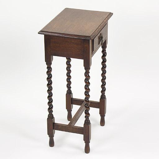 引出し付き・サイドテーブル