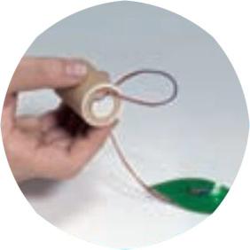 エコ発電ホタル■DJ-0055 振ると光る!圧電素子を使ったキットです。LEDをホタルの光に見立てています