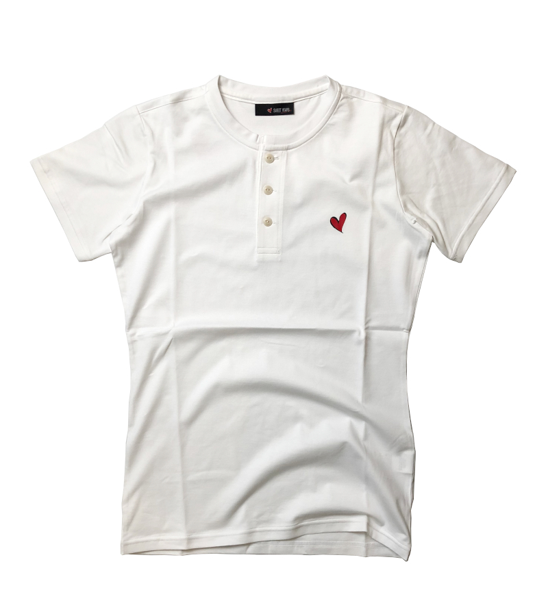【SWEET YEARS】 ヘンリーネックTシャツ /10067SY