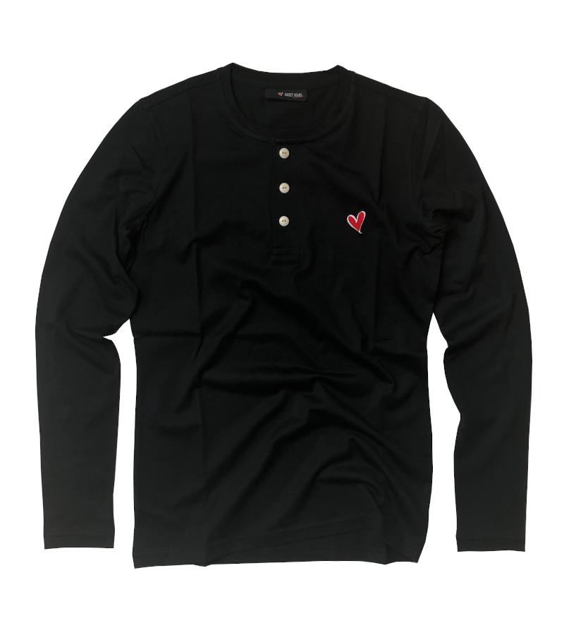 【SWEET YEARS】 ヘンリーネックTシャツ ロングスリーブ/10605SY