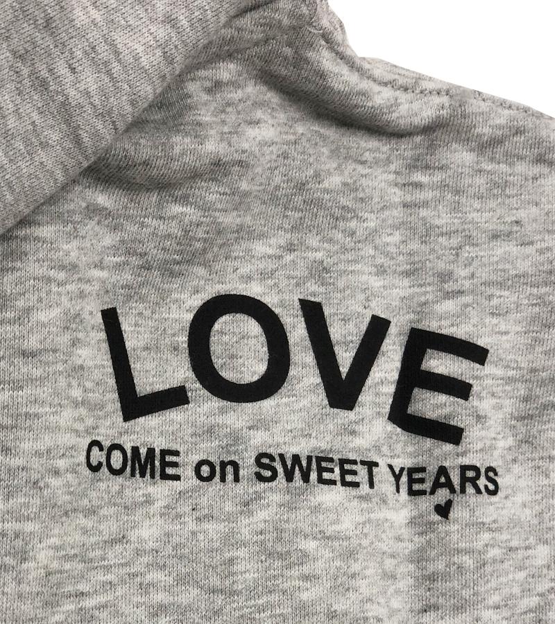 【SWEET YEARS】 スウェットジップパーカー/9623SY