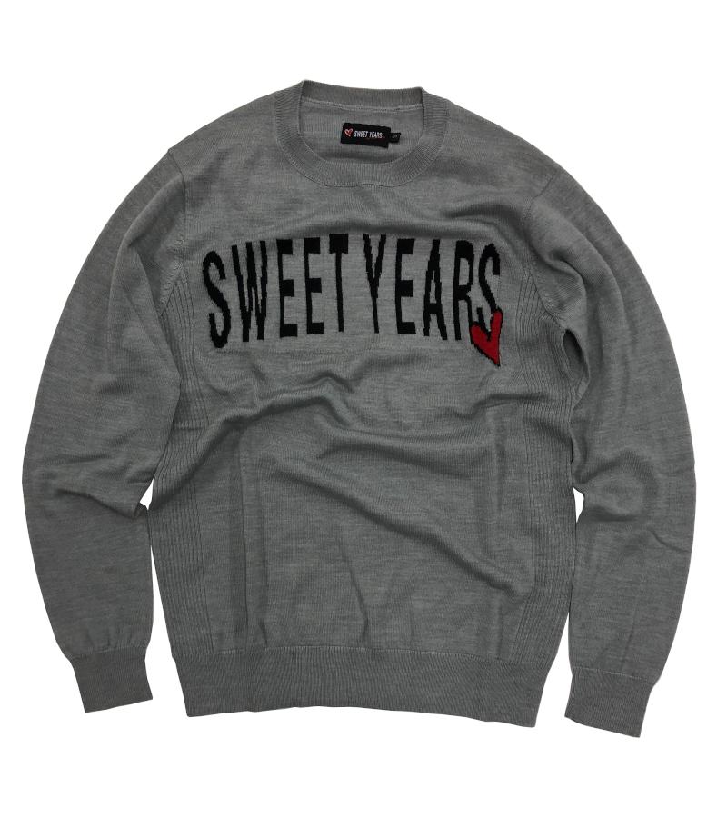 【SWEET YEARS】 ニット・セーター クルーネック/9616SY