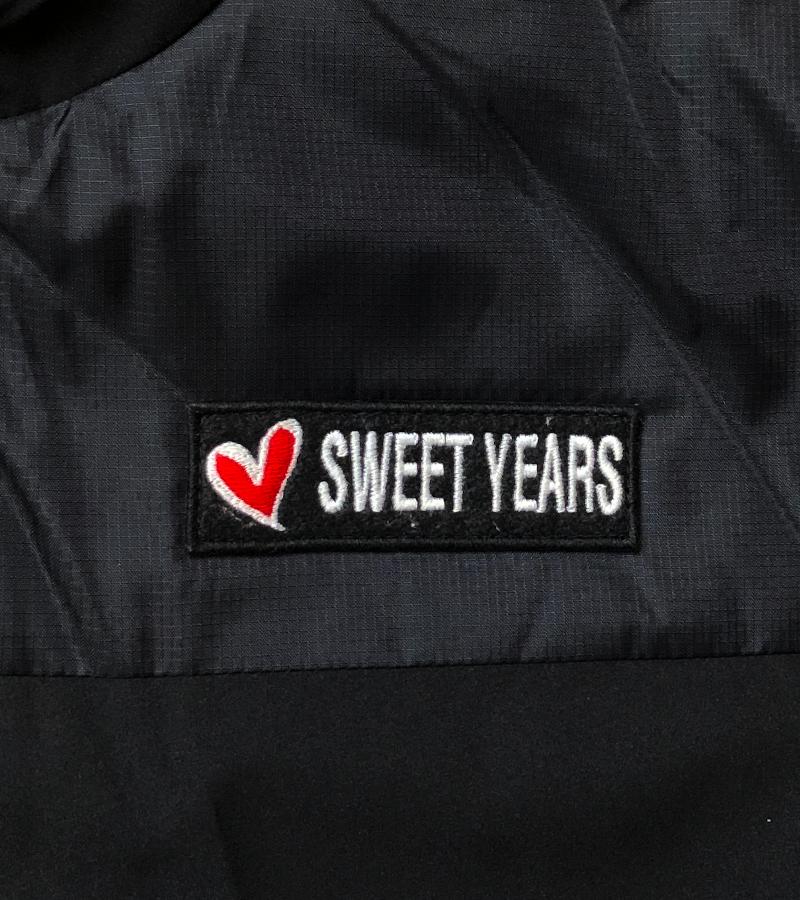 【SWEET YEARS】 ナイロン ボアジャケット/10623SY